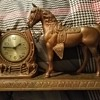 Vintage Sessions (< I think) Mantel Horse Clock