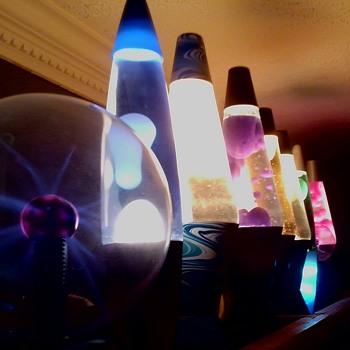 Far Out!  Lava Lamps!