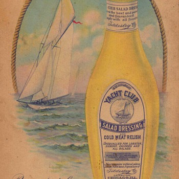 1914 - Yacht Club Dressing Advertisement - Advertising