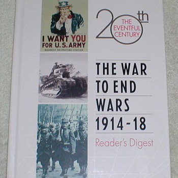 The War to End Wars 1914-1918 - Books