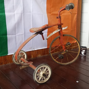 My old tricycle