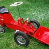 Kids vintage pedal tractor