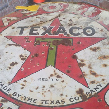 42&quot; Texaco  - Signs