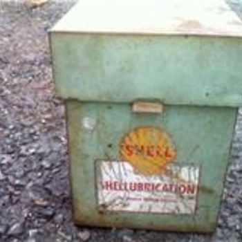 Old Shell File Box? - Petroliana