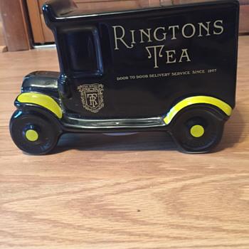 Rington's Tea Bank - Advertising
