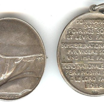 Swiss War Medals II