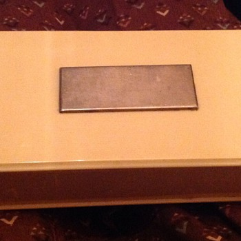 Birks French Ivory box - Art Deco