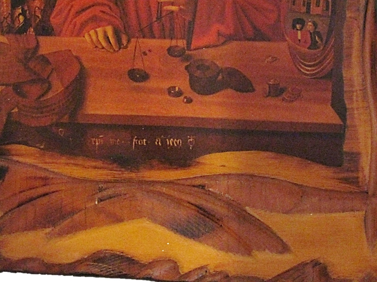 petrus christus a goldsmith in his shop collectors weekly