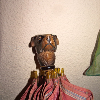 My Grandfather's Dog Head Umbrella