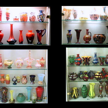 Passauer Glasmuseum - Some Deco Era Production Cases - Updated Post - Art Glass