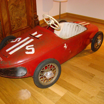 Ferrari 156 by Morellet Guerineau (France) - Toys