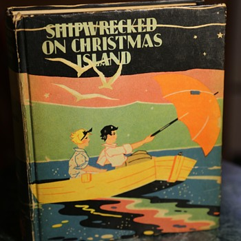 Dick and Janet Cherry Series - Shipwrecked on Christmas Island - Books
