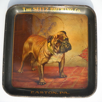 Seitz Beer Tray - Pre-Prohibition - Breweriana