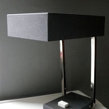 egon hillebrand table lamp - Mid-Century Modern