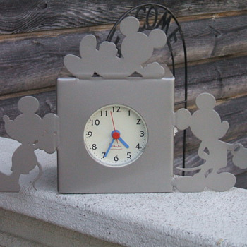 Michael Graves design Mickey Clock