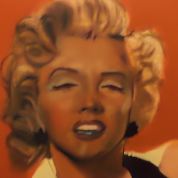 Marilyn Monroe is this a Andy Warhol? big painting no marks, Help? - Movies