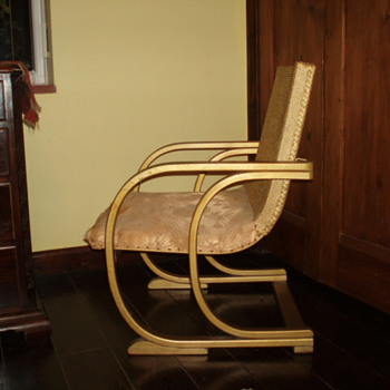 Art Deco Lloyd Loom Chair - Art Deco