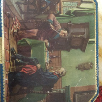 old biscuit tin - Advertising