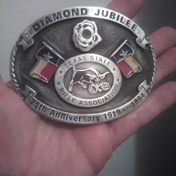 Tsra Diamond jubilee belt buckle