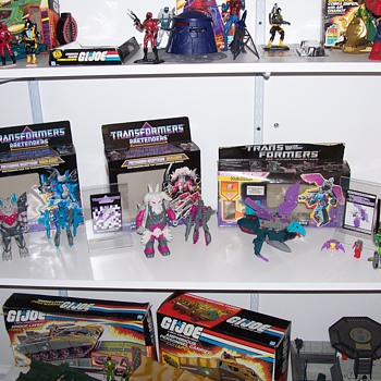 My Transformers Collection 100% Complete with Boxes