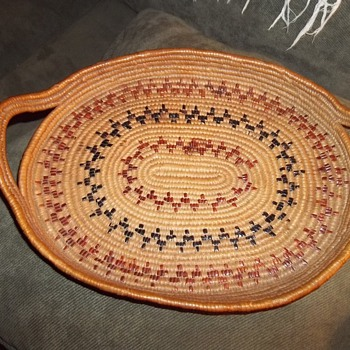 Salish Basket Tray