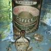 Golden Sun Coffee Can