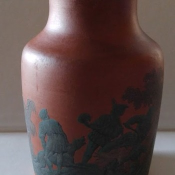 Prattware jar - Art Pottery