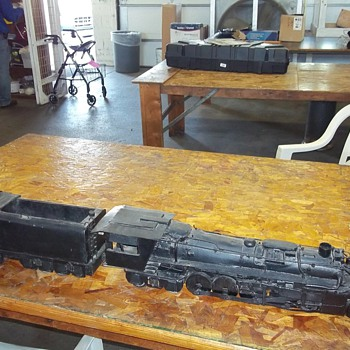 HAND MADE RAILROAD ENGINE