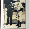 Babe Ruth and George H Bush autograph
