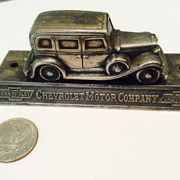 Vintage Chevrolet Desktop Item?