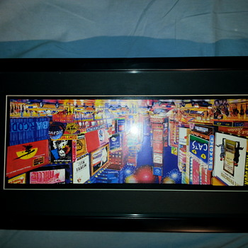 Small 3-D shadowbox of Times Square - Help! - Visual Art