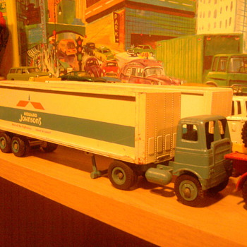 Howard Johnson Winross trucks.  Had one as a kid, and found one like it again.