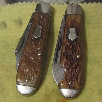 2 PAL CUTLERY Knives, 1 EO Jack and 1 Regular Jack - Tools and Hardware