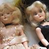 "7"" porcelain face doll, moving eyes"