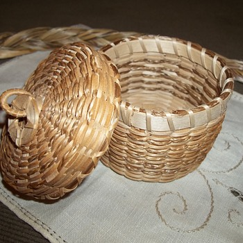 Maine Basket by Lawrence  Shay, Penobscot