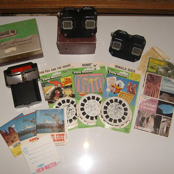 OLD! VIEWMASTER REELS LIGHT ADAPTER ORIGINAL BOXES