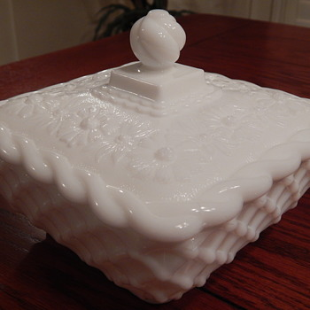 Imperial covered candy dish - Glassware
