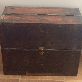 unknown tool chest or trunk  - Furniture