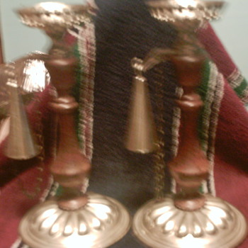 pair of candle sticks