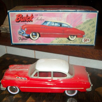 Fifties Buick Model - Model Cars