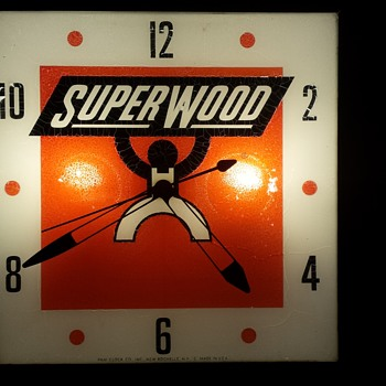Superwood Clock