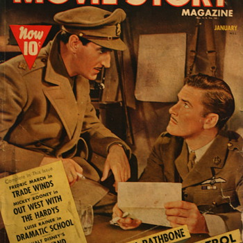1938 Movie Story Magazine - Paper