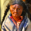 Indian Doll with Human/Horse hair Germany