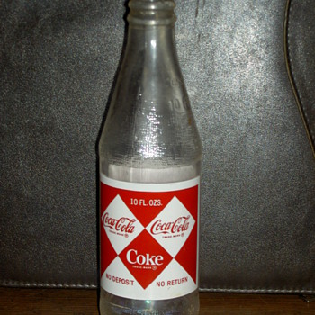 1967 coke bottle - Coca-Cola