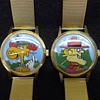 1971 Jay Ward Hand-Painted Dial Character Wristwatches