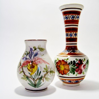 AMBEROSES FAVORITE VASES /THROWBACK WEEKEND  - Art Pottery