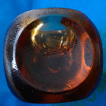 Amber Glass ?? help! (Murano Sommerso??) - Art Glass