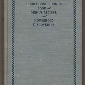 1922 - Good Housekeeping Book - Books