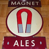 Magnet Ales Sign British