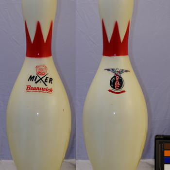 Brunswick Mixer Tri-Color Eagle ABC Bowling Pin
